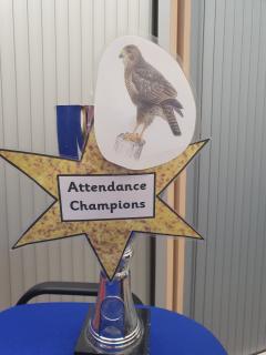 Hawks attendance  trophy